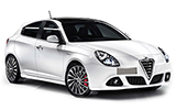 AVIS Car rental Bra - City Centre Compact car - Alfa Romeo Giulietta