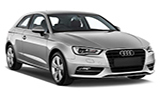 BUDGET Car rental Cape Town - Airport Standard car - Audi A3