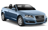CENTAURO Car rental Alicante - Train Station Convertible car - Audi A3 Convertible