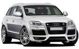 AVIS Car rental Moscow - Airport Domodedovo Suv car - Audi Q7