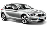 SIXT Car rental Sveg Compact car - BMW 1 Series