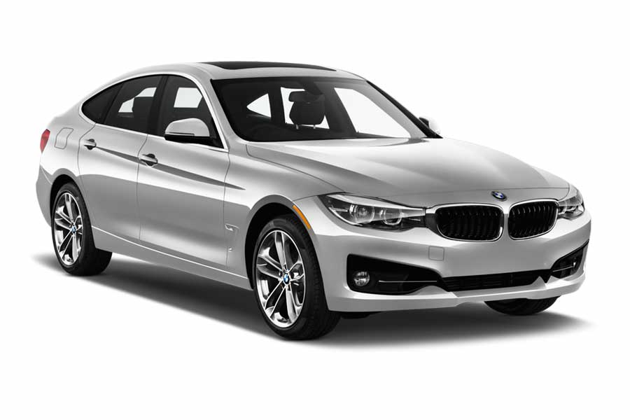 SIXT Car rental Ibiza - Airport Fullsize car - BMW 3 Series