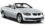 SIXT Car rental Salzburg Downtown Convertible car - BMW 3 Series Convertible