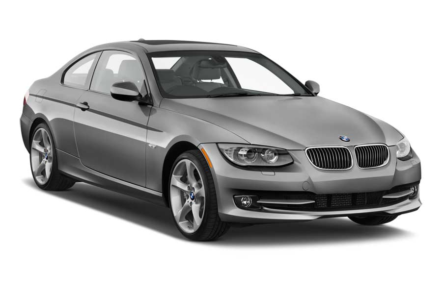 ENTERPRISE Car rental Athens - Airport - Eleftherios Venizelos Fullsize car - BMW 3 Series Coupe