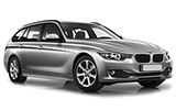SIXT Car rental Barcelona - Mas Blau Standard car - BMW 3 Series Estate