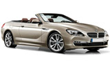 KING Car rental Lugano Downtown Convertible car - BMW 6 Series Convertible