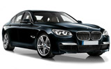 SIXT Car rental Santiago - Sheraton Luxury car - BMW 7 Series