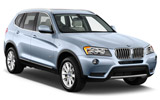 EUROPCAR Car rental Ostrava Svinov Railway Station Suv car - BMW X3