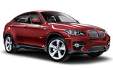 SIXT Car rental Borlange Suv car - BMW X6