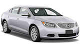 THRIFTY Car rental Wichita Airport Luxury car - Buick Lacrosse