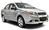 NATIONAL Car rental Chihuahua - Airport Standard car - Chevrolet Aveo