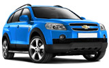 HERTZ Car rental Podgorica Airport Suv car - Chevrolet Captiva