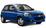 EUROPCAR Car rental Playa Del Carmen - Downtown Economy car - Chevrolet Chevy