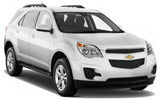 NATIONAL Car rental Chetumal Airport Suv car - Chevrolet Equinox