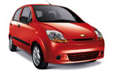 BUDGET Car rental Morelia Michoacan - Downtown Mini car - Chevrolet Matiz