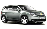 DRIFTER Car rental Bugibba Van car - Chevrolet Orlando