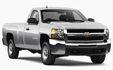 HERTZ Car rental Mcallen Miller International Airport Suv car - Chevrolet Silverado