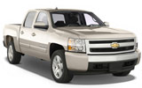 NATIONAL Car rental Chicago O'hare - Airport Van car - Chevrolet Silverado Ext Cab