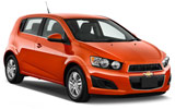 NATIONAL Car rental Santiago - Sheraton Mini car - Chevrolet Sonic