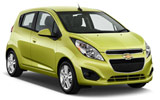 HERTZ Car rental Oakland - 3950 Broadway Economy car - Chevrolet Spark
