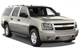 ENTERPRISE Car rental San Francisco - Sunset District Suv car - Chevrolet Suburban