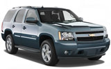 AVIS Car rental Sterling Suv car - Chevrolet Tahoe