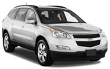 NATIONAL Car rental Los Cabos - Hilton Hotel Suv car - Chevrolet Traverse