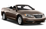 ADVANTAGE Car rental San Francisco - Airport Convertible car - Chrysler 200 Convertible