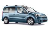 BUDGET Car rental La Gomera - San Sebastian - City Van car - Citroen Berlingo