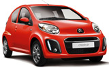 MELI Car rental Bugibba Mini car - Citroen C1