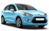 CIRCULAR Car rental Side Economy car - Citroen C3
