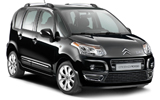 NOLEGGIARE Car rental Palermo - Airport - Punta Raisi Van car - Citroen C3 Picasso
