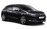 BUDGET Car rental Valencia - Airport Compact car - Citroen C4