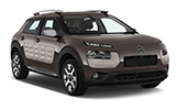BUDGET Car rental Girona - Costa Brava Airport Compact car - Citroen C4 Cactus