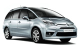 BUDGET Car rental Ibiza - Airport Van car - Citroen C4 Grand Picasso