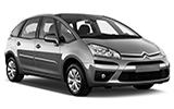 EUROPCAR Car rental Gaeta - City Centre Van car - Citroen C4 Picasso