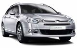 BUDGET Car rental Tromso Standard car - Citroen C5 Estate