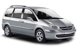THRIFTY Car rental King Hussein Airport Aqaba Van car - Citroen C8