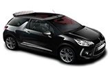 NOLEGGIARE Car rental Palermo - Airport - Punta Raisi Convertible car - Citroen DS3 Cabriolet