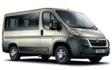 BUDGET Car rental Udine - City Centre Van car - Citroen Jumper 9 Seater