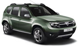 SIXT Car rental Paros Suv car - Dacia Duster