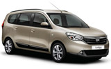 SHARR EXPRESS Car rental Skopje Van car - Dacia Lodgy