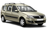 CIRCULAR Car rental Side Standard car - Dacia Logan MCV