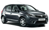 Dacia car rental at Corsica - Airport - Ajaccio [AJA], France - Rental24H.com