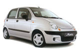 ALAMO Car rental Naples - Train Station Mini car - Daewoo Matiz
