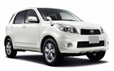 Daihatsu car rental in Playa Nosara, Costa Rica - Rental24H.com