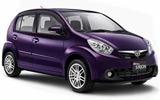 LUCKY Car rental Auckland Airport - International Terminal Economy car - Daihatsu Sirion