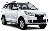 SIXT Car rental St Barthelemy Gustaf Iii Airport Suv car - Daihatsu Terios