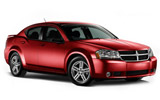 BUDGET Car rental Libertyville Standard car - Dodge Avenger