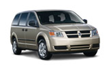 HERTZ Car rental Mexico City - Benito Juarez Intl Airport - T1 - International Van car - Dodge Caravan